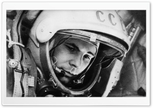 Yuri Gagarin HD Wide Wallpaper for Widescreen
