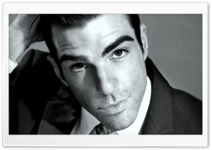 Zachary Quinto HD Wide Wallpaper for Widescreen