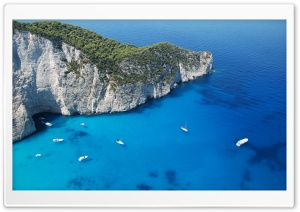 Zakynthos Navagio HD Wide Wallpaper for Widescreen