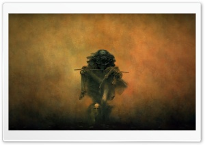 Zdzislaw Beksinski Burden HD Wide Wallpaper for 4K UHD Widescreen desktop & smartphone