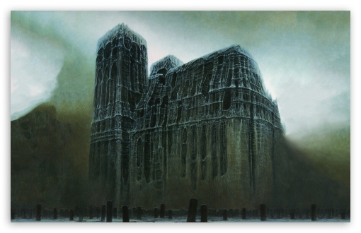 Zdzislaw Beksinski Cathedral ❤ 4K UHD Wallpaper for Wide 16:10 5:3 Widescreen WHXGA WQXGA WUXGA WXGA WGA ; 4K UHD 16:9 Ultra High Definition 2160p 1440p 1080p 900p 720p ; Standard 4:3 5:4 3:2 Fullscreen UXGA XGA SVGA QSXGA SXGA DVGA HVGA HQVGA ( Apple PowerBook G4 iPhone 4 3G 3GS iPod Touch ) ; Tablet 1:1 ; iPad 1/2/Mini ; Mobile 4:3 5:3 3:2 16:9 5:4 - UXGA XGA SVGA WGA DVGA HVGA HQVGA ( Apple PowerBook G4 iPhone 4 3G 3GS iPod Touch ) 2160p 1440p 1080p 900p 720p QSXGA SXGA ;