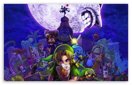 Zelda Majoras 4k Hd Desktop Wallpaper For Wide Ultra