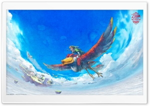 Zelda Skyward Sword HD Wide Wallpaper for 4K UHD Widescreen desktop & smartphone