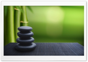 Zen Stones Background HD Wide Wallpaper for 4K UHD Widescreen desktop & smartphone