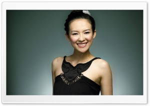 Zhang Ziyi 1 HD Wide Wallpaper for Widescreen