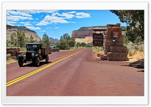 Zion National Park HD Wide Wallpaper for Widescreen