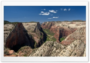 Zion National Park Observation Point HD Wide Wallpaper for 4K UHD Widescreen desktop & smartphone