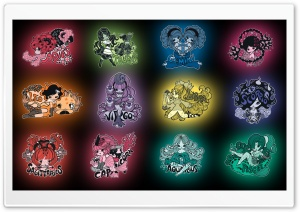 Zodiac Signs HD Wide Wallpaper for Widescreen