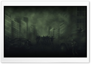 Zombies Attack HD Wide Wallpaper for Widescreen