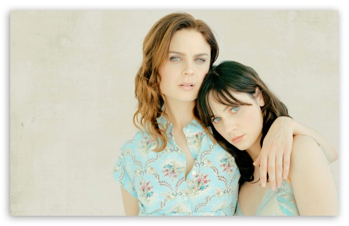 Zooey and Emily Deschanel ❤ 4K UHD Wallpaper for Wide 16:10 5:3 Widescreen WHXGA WQXGA WUXGA WXGA WGA ; 4K UHD 16:9 Ultra High Definition 2160p 1440p 1080p 900p 720p ; Standard 4:3 5:4 3:2 Fullscreen UXGA XGA SVGA QSXGA SXGA DVGA HVGA HQVGA ( Apple PowerBook G4 iPhone 4 3G 3GS iPod Touch ) ; Tablet 1:1 ; iPad 1/2/Mini ; Mobile 4:3 5:3 3:2 16:9 5:4 - UXGA XGA SVGA WGA DVGA HVGA HQVGA ( Apple PowerBook G4 iPhone 4 3G 3GS iPod Touch ) 2160p 1440p 1080p 900p 720p QSXGA SXGA ;