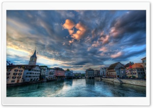 Zurich, Switzerland Ultra HD Wallpaper for 4K UHD Widescreen desktop, tablet & smartphone