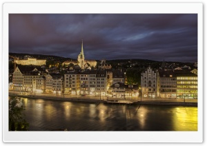 Zurich, Switzerland HD Wide Wallpaper for Widescreen