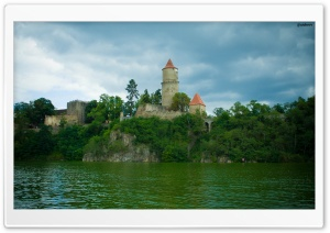 Zvikov Castle HD Wide Wallpaper for Widescreen